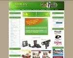 Weboldal készítés - HOBI - horgász, bicikli webáruház